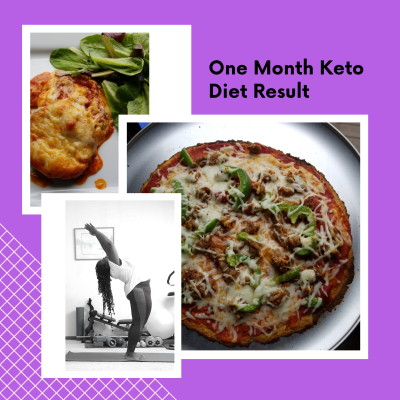 One Month Keto Diet Result